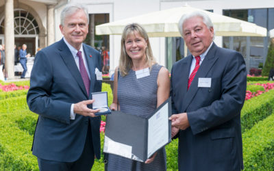 Professor Dimmeler received  Willy Pitzer Award 2017